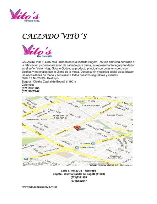 02 DATOS BASICON Y PLANO DE ACCESO VITOS S.A (1)