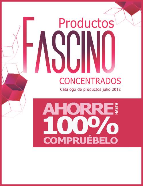 Catalogo Productos FASCINO