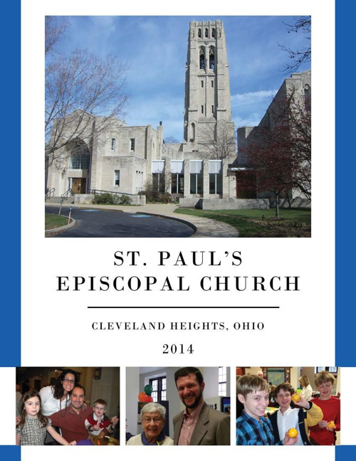 Parish Profile, St. Paul's Episcopal Church, Cleveland Heights