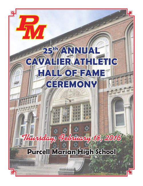 2016 Cavalier Athletic Hall of Fame