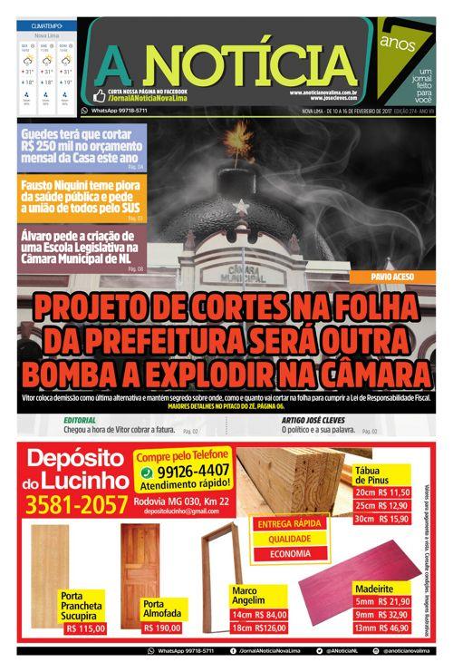 Jornal A Notícia - Edição 274