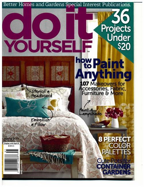 Better Homes & Garden Do It Youself Spring2014