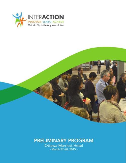 InterACTION 2015 Preliminary Program
