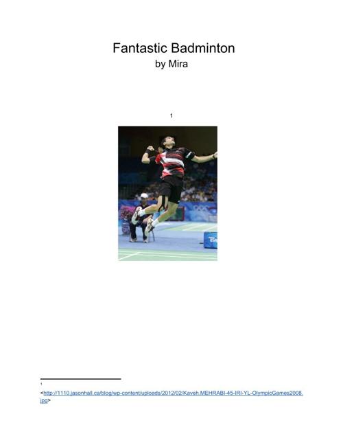 Fantastic Badminton