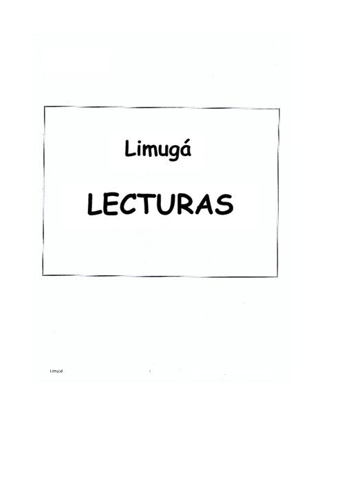 LIMUGA LECTURAS