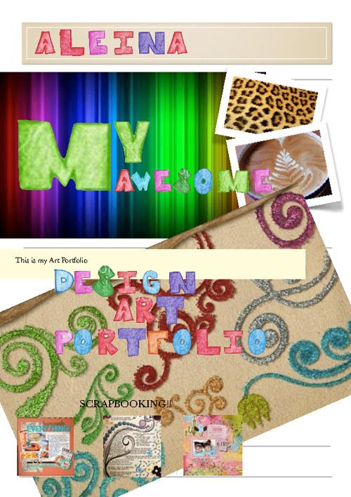 Aleina's Design Art Portfolio