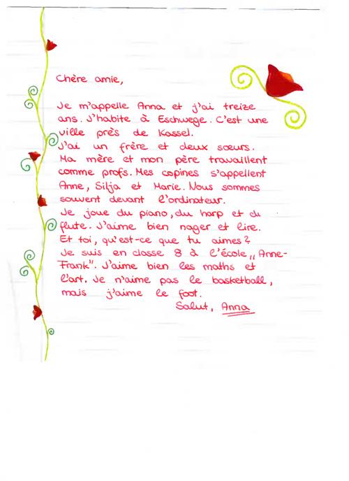 Copy of Lettres de présentation École Anne-Frank