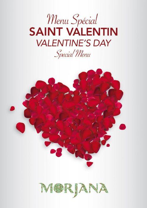 Menu Saint Valentin 2017 au Mazagan