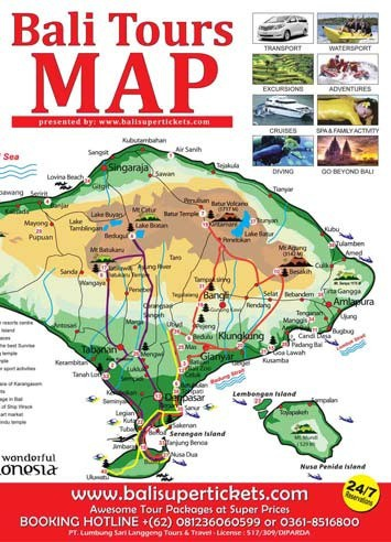 Bali Tours MAP Promotion