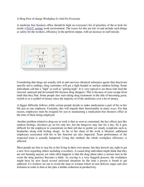 florida random/consortium testing