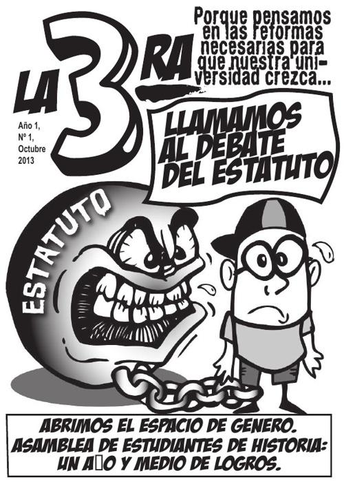 """Revista """"La 3ra"""" Nro. 1, octubre 2013"""