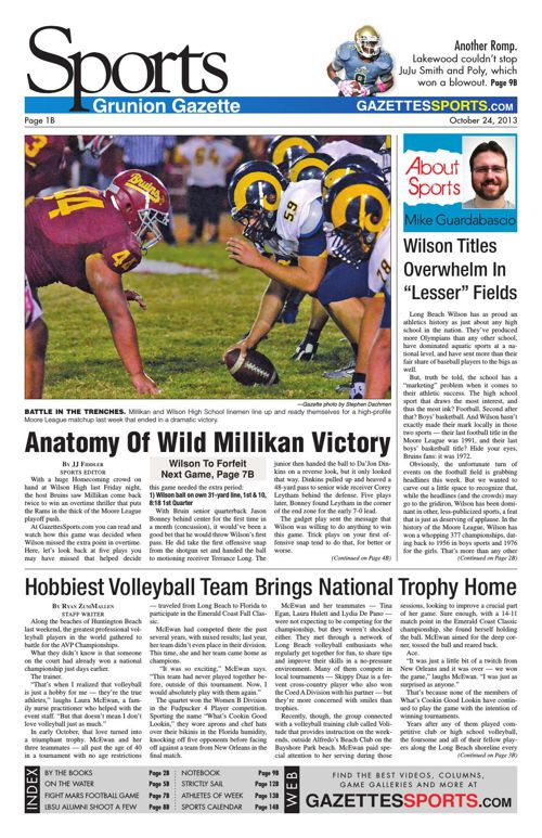 Gazette Sports | October 24, 2013