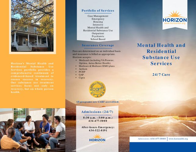 Horizon Mental Health and Residential Substance Use Services