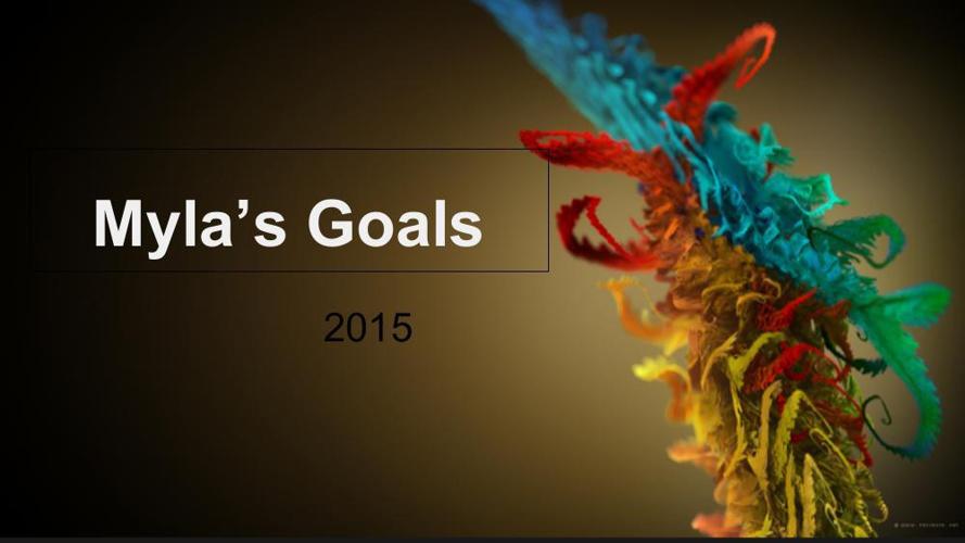 Goal Setting 2015 Myla Jacobs