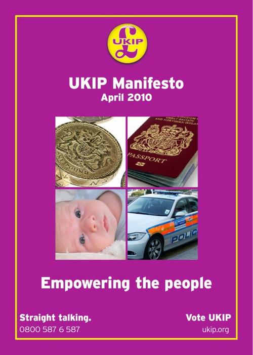 UKIP National Manifesto