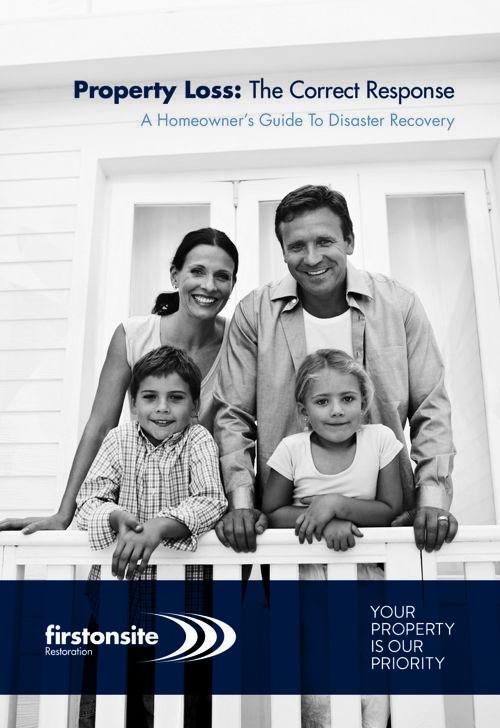 FirstOnSite Restoration Property Loss Booklet-Digital