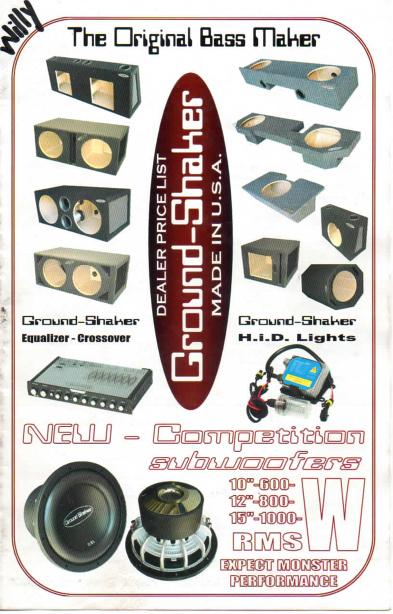 Ground-Shaker Catalog