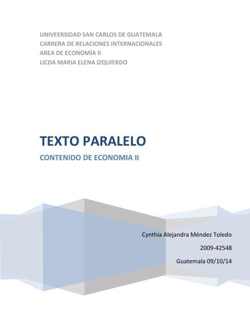 Copy of ECONOMÍA POLÍTICA