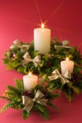 100 christmas floral arangement
