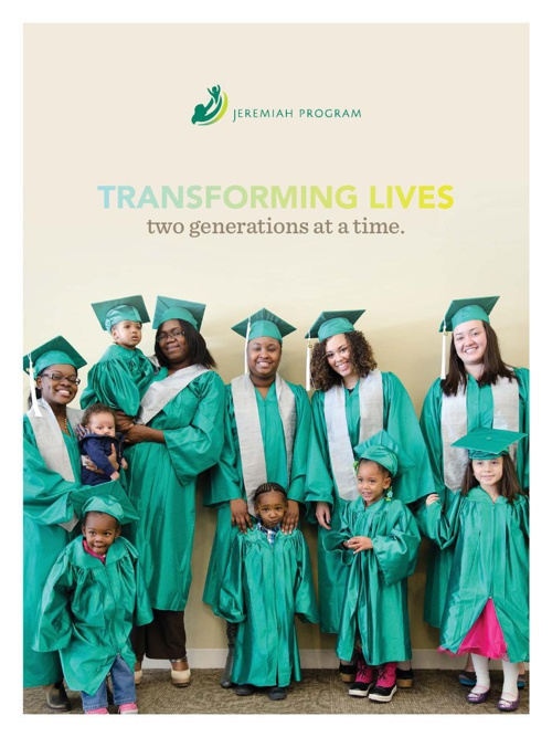 Jeremiah Program 2013 Annual Report
