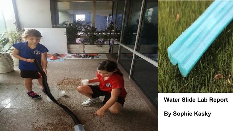 my water slide lab report