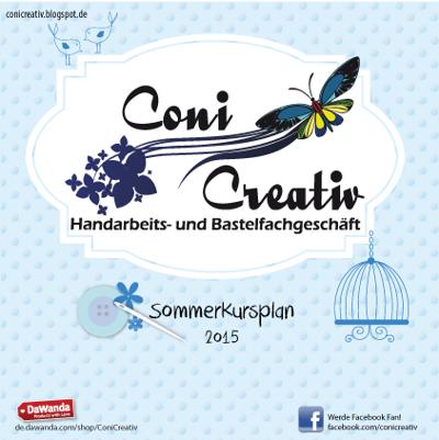 Coni Creativ Kursplan Sommer 2015