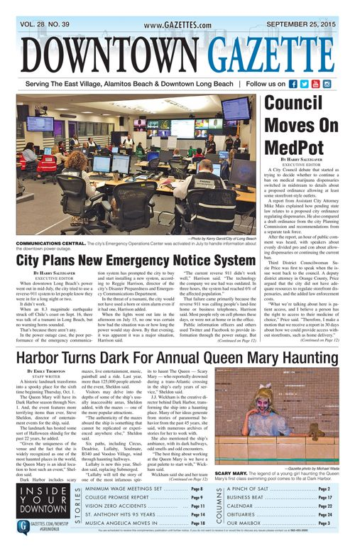 Downtown Gazette  |  September 25, 2015