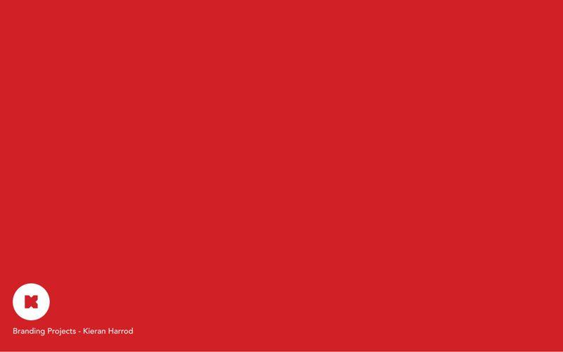 Kieran Harrod - Branding Portfolio May 2015