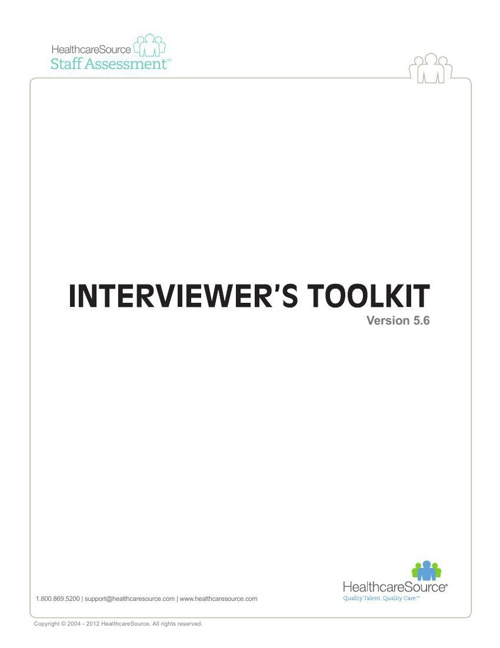 hsi-interviewers-toolkit