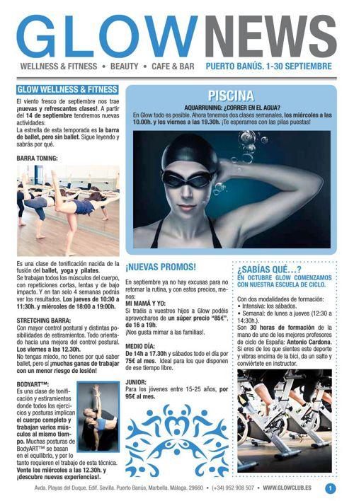 Revista Glow Marbella 1/09 al 30/09