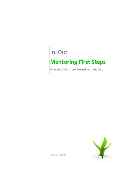 In2Out Mentoring First Steps