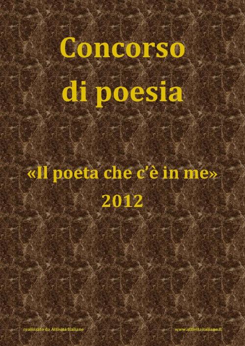 Concorso di Poesia 2012