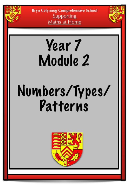 Year 7 Module 2 Booklet