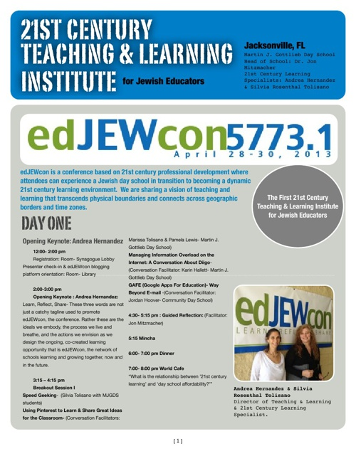 EdJewcon5773 Book