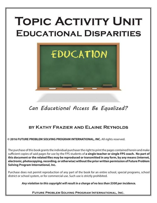 2016-17 TAU Educational Disparities