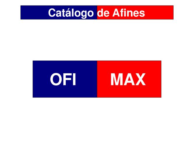Catálogo de Afines Ofimax