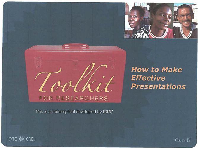 Hicks Presentation Skills Orientation