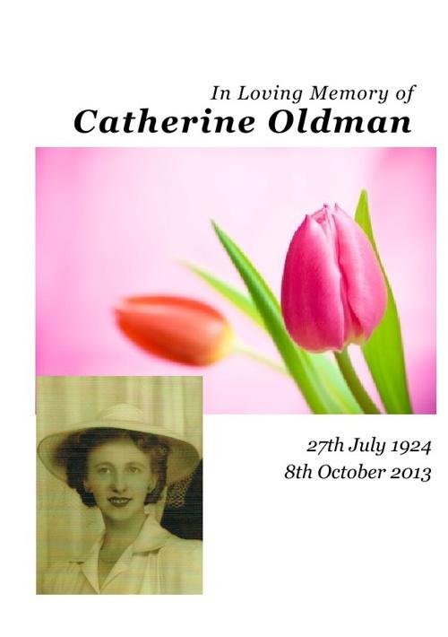 Catherine Oldman