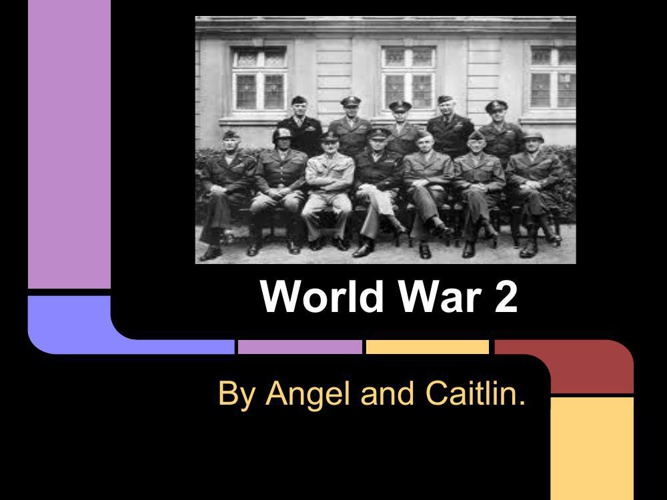 World War 2 presentation