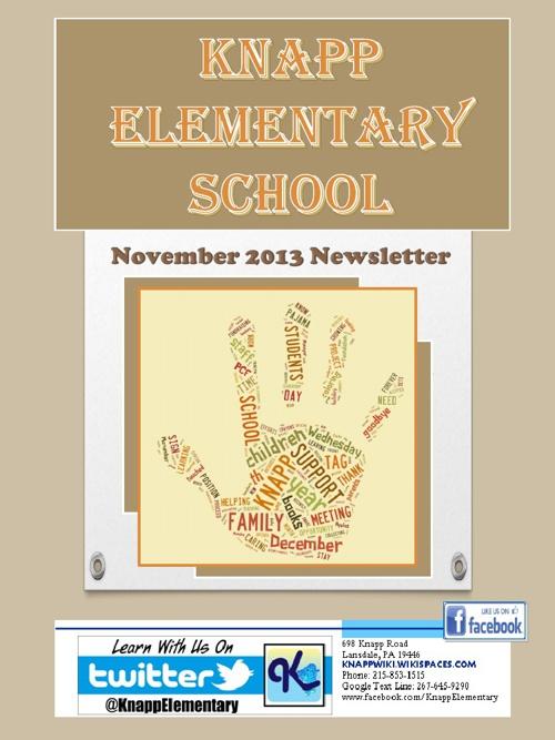 Knapp eNewsletter - November 2013