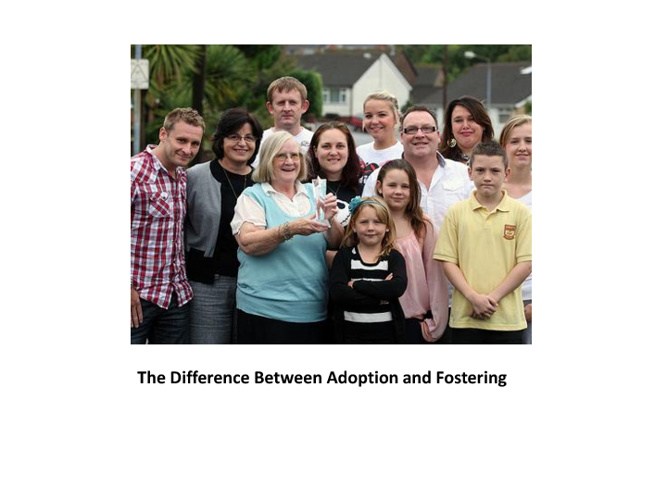 The Difference Between Adoption and Fostering