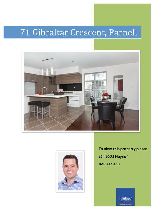 71 Gibraltar Cr, Parnell