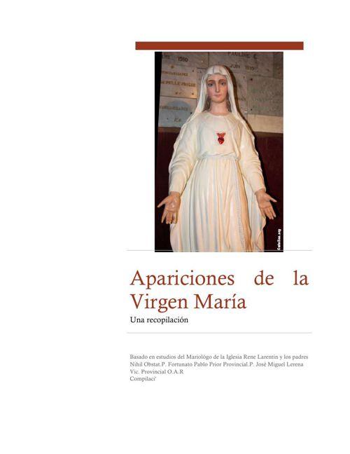 Apariciones de la Virgen María  I Compilación de Alma Toscano