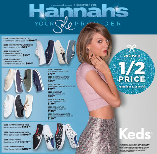 Hannahs December 2016 Mailer