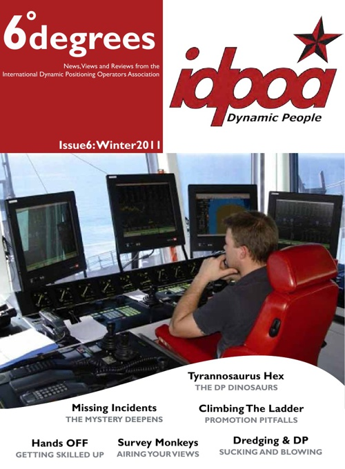 IDPOA 6degrees Issue 6 Winter 2010