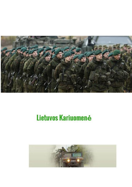 Copy of Lietuvos Kariuomene