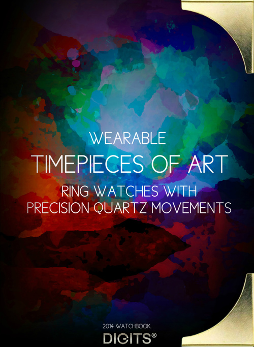 2014 Watchbook- Wearable Timepieces of Art by Digits.