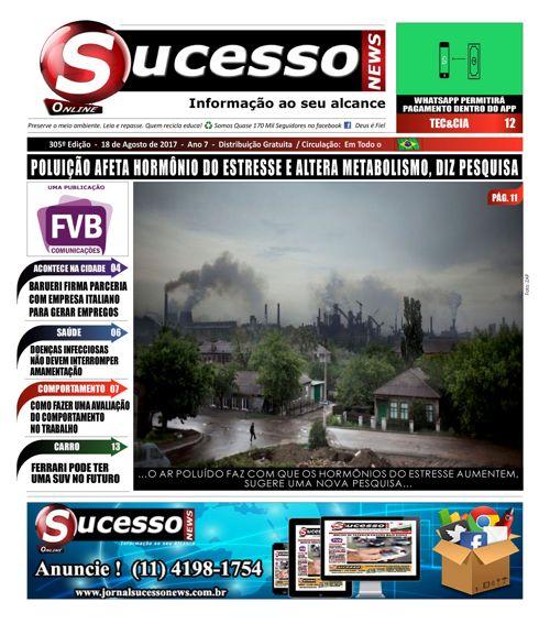 Jornal Sucesso News - Edição - 305 ONLINE