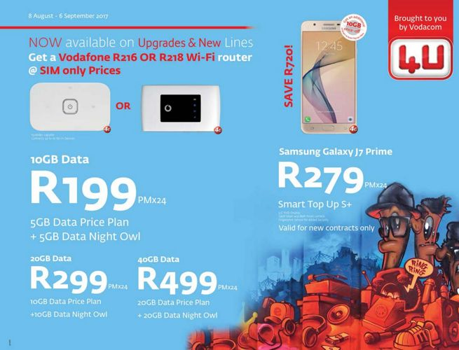 Vodacom4U August Brochure 2017