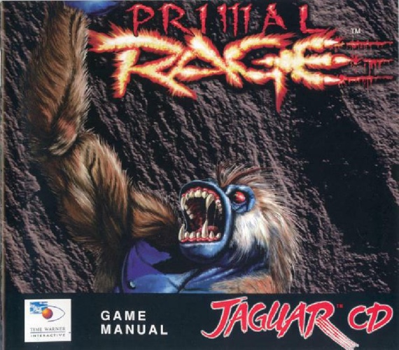 Primal Rage -  Atari jaguar Manual